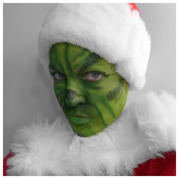 character makeup, Dr. Seuss, Holiday Season