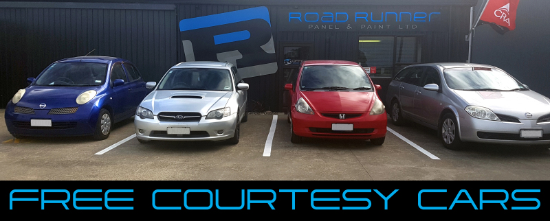 courtesy cars