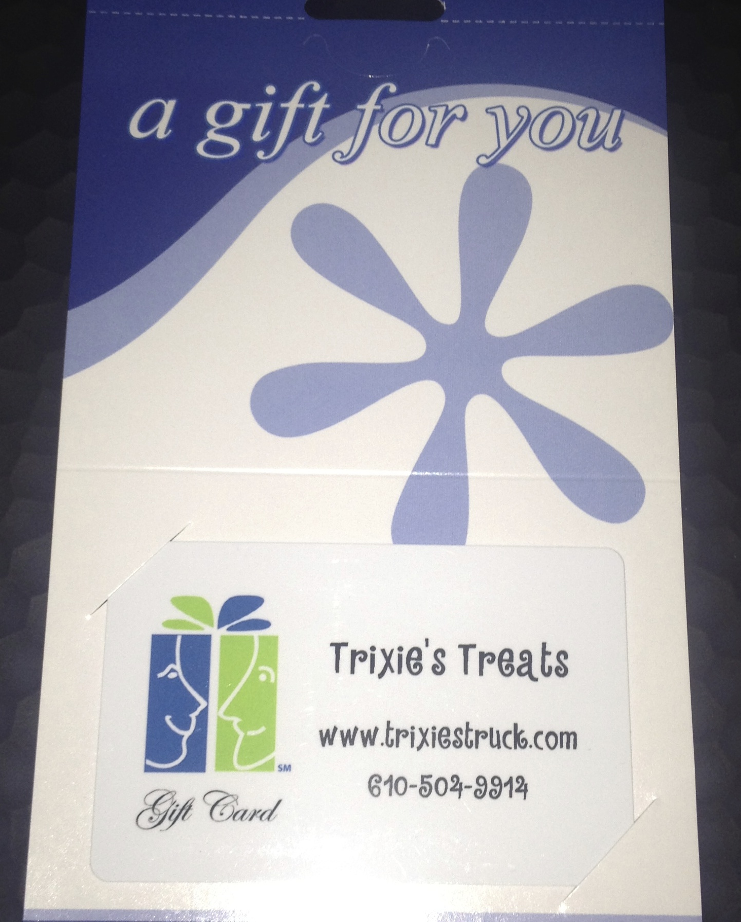 Gift Certificates in any denomination