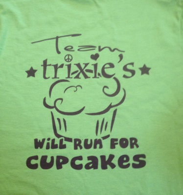 Will Run for Cupcakes Shirt $15