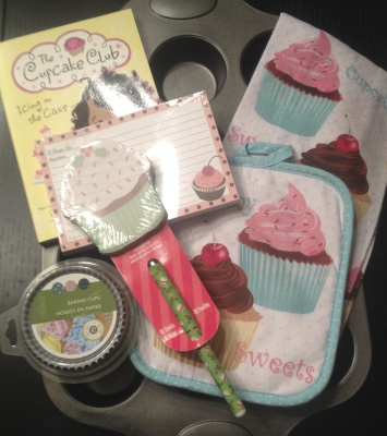 Gift packages for the young baker      (supplies vary )