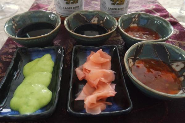 Sauces for homemade dumplings