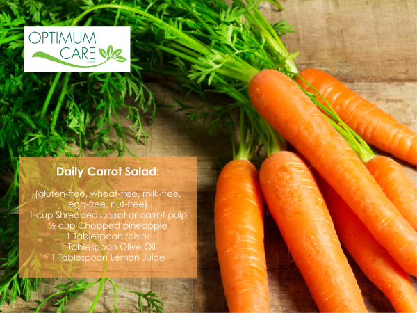 Daily carrot salad