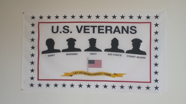 Veteran Tribute Wall