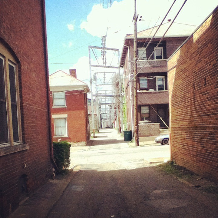 downtown alleys