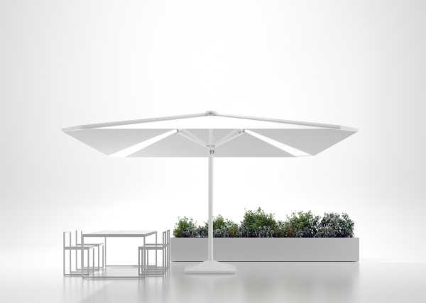 back lit patio umbrella
