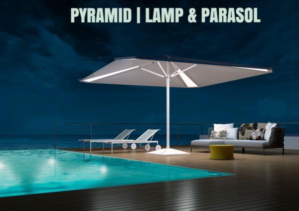 "<pyramid bakclit patio parasol.jpg"" alt=""pyramid backlit patio parasol"">"