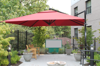 outdoor umbrella for care home
