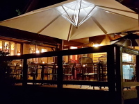 patio umbrella for restaurant patio