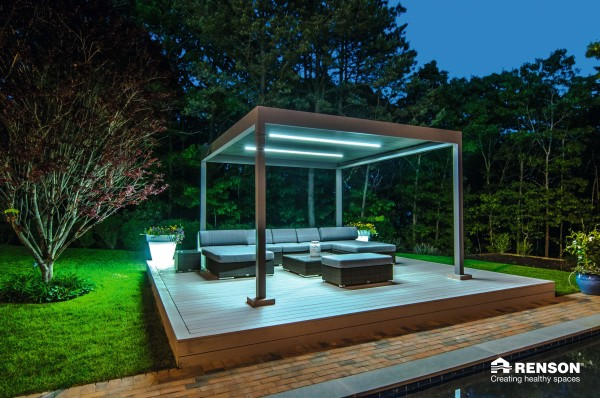 terrace cover for home backyard space