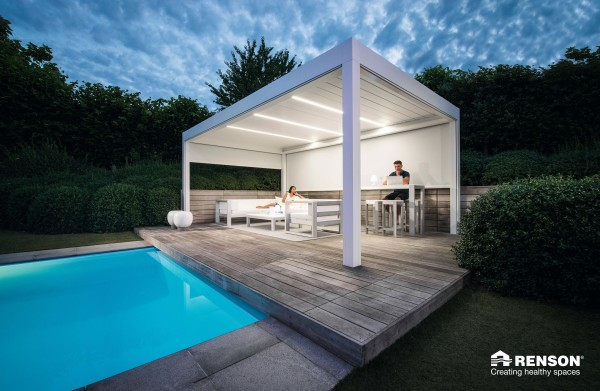 terrace cover for backyard