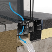 fabric automated window shades mechanism