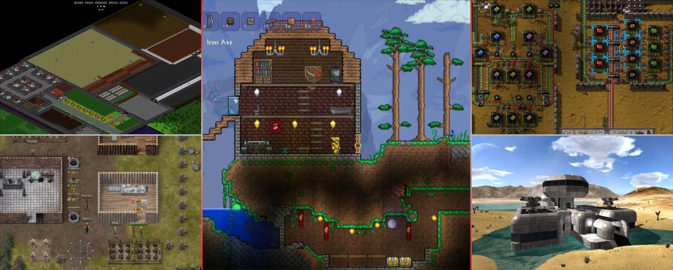 Top 5 Survival/Sandbox Games