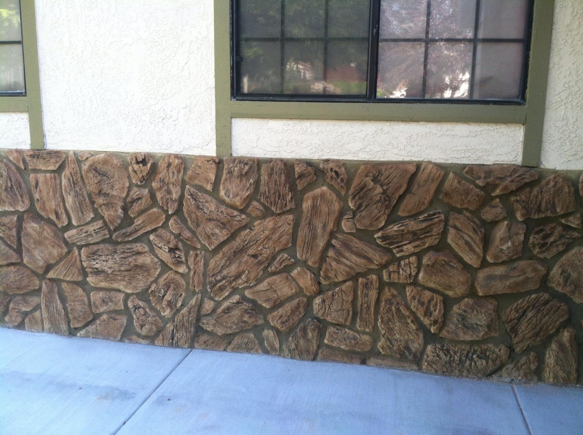 rock veneer