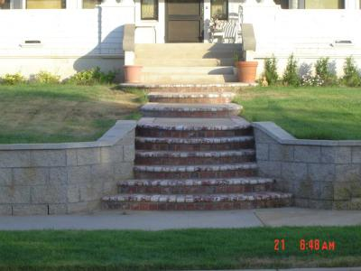 Block &brick steps