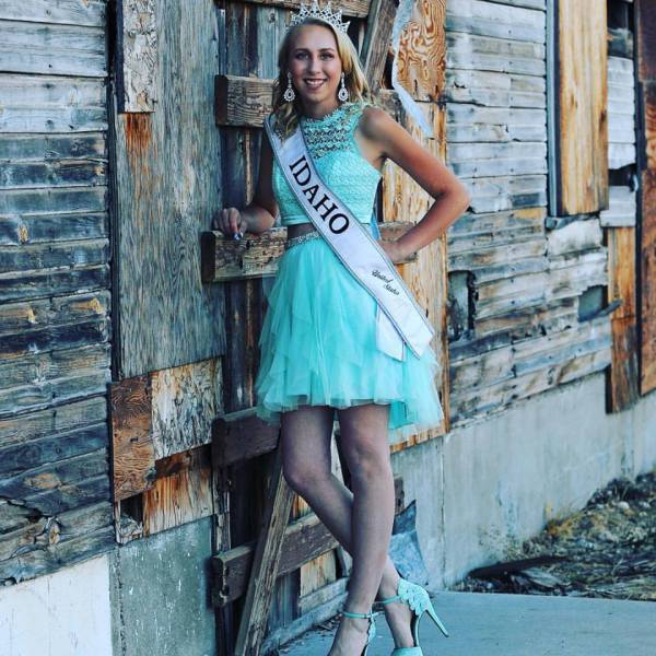 Miss Teen Idaho Brooke Renouf