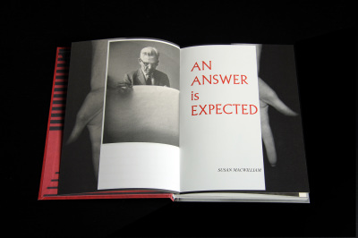 Book Launch: AN ANSWER is EXPECTED | Wednesday 11 October 2017