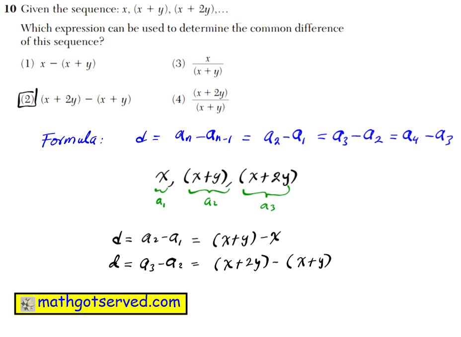 NYS Regents 2016 January algebra 2 Solutions 9 What is the total number of points of intersection of the graphs of computations. the equations 2x2  y2  8 and y  x   2? (1) 1 (3) 3 (2) 2 (4) 0