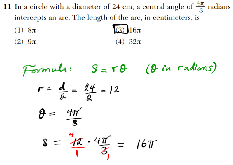 NYS Regents 2016 January algebra 2 Solutions 10 Given the sequence: x, (x   y), (x   2y),… Which expression can be used to determine the common difference of this sequence? (1) x  (x   y) (3) (2) (x   2y)  (x   y)