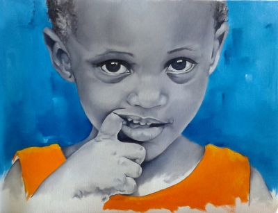 "Emilia - Oil on canvas - 11"" x 14"" - Sold"