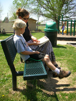 How to Share Your Love of Reading with Your Kids