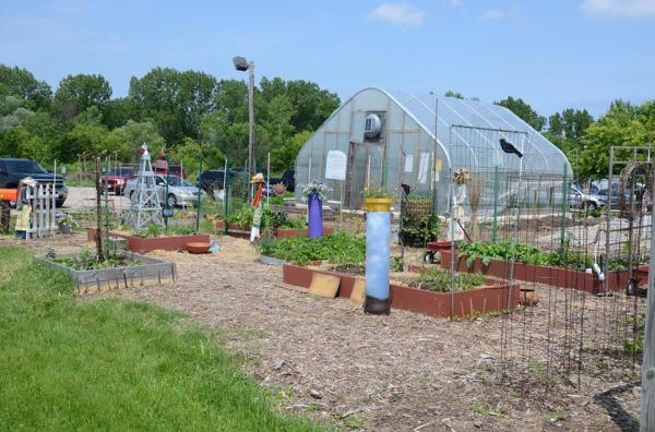 UWEX square foot garden