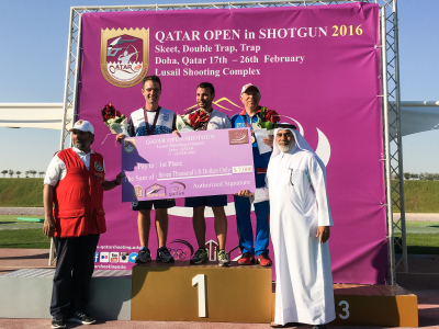 QATAR OPEN IN SHOTGUN 2016