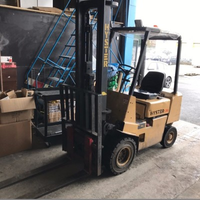 March 2017 Auction - Stock Pallets, Brand New Furniture, Forklift Truck, Stationery and IT Equipment
