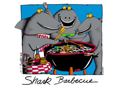 Shark Barbeque