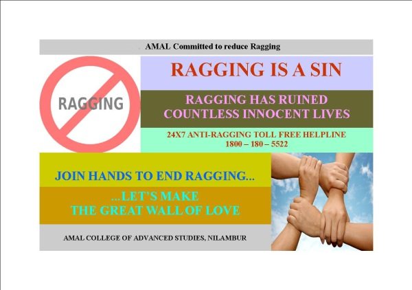Ragging is a Sin