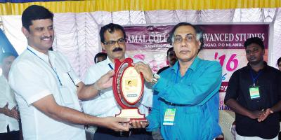 P.K. Parakkadavu Inagurated the College Day 2016