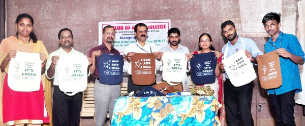 ED Club's eco-friendly cotton bag project launched