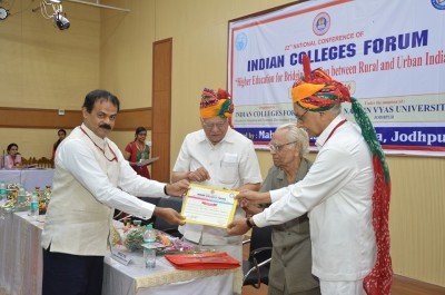 Dr. M. Usman elected as the Secretary of Indian Colleges Forum, New Delhi