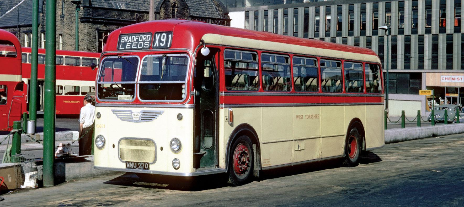 Bradford Chester Street bus station