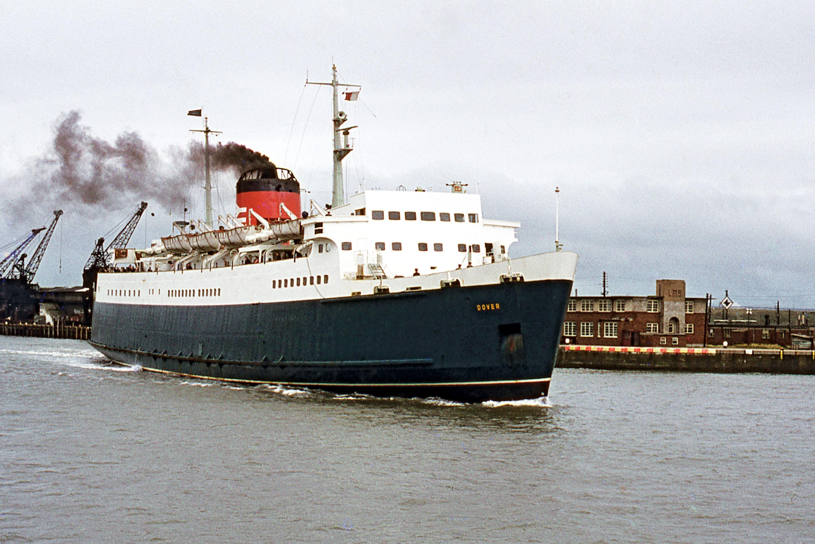 British Rail steamer ' Dover'