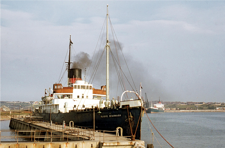 Turbine steamer 'Slieve Bearnagh'