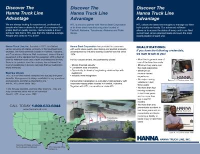 Hanna Steel Truck Line