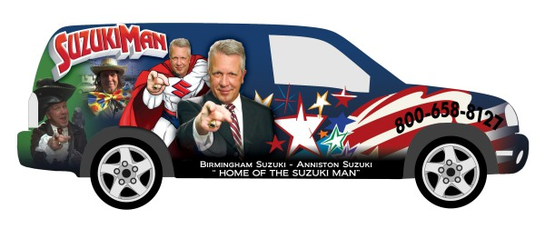Suzuki  - Graphics for Car Wrap