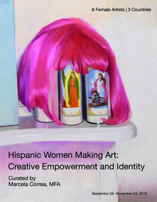 HISPANIC WOMEN MAKING ART