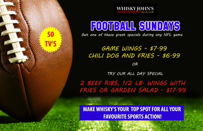 SUNDAY - Football Sundays