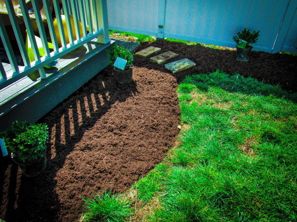 Edging, Mulch, Plant Install