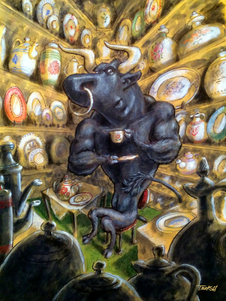 Bull In The China Shop
