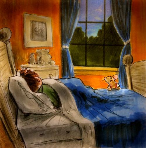 Thomas Marsh Creations artist Los Angeles art artwork color painting illustration