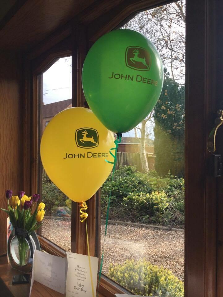 Official John Deere latex balloons