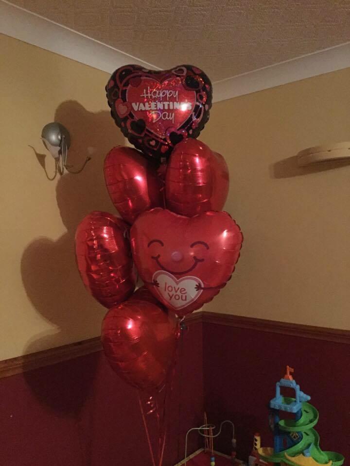 Valentine's foil bouquet