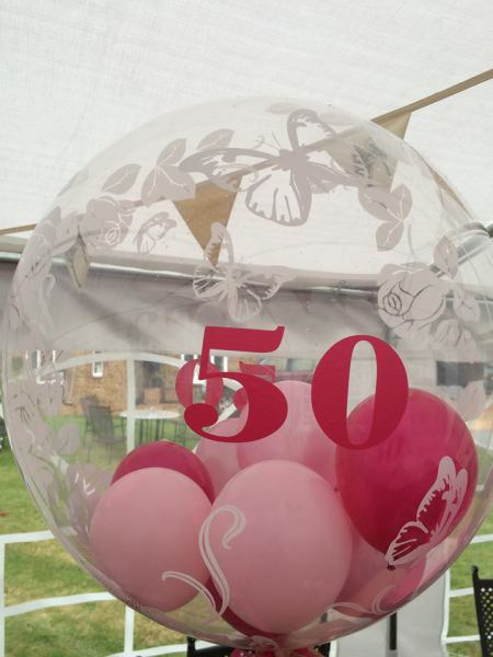 Personalised Birthday bubble