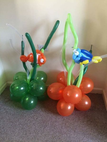 Dory & Nemo in the seaweed