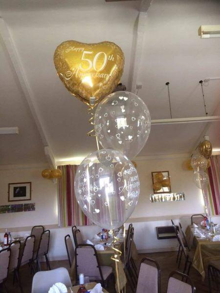 50th wedding anniversary bouquet