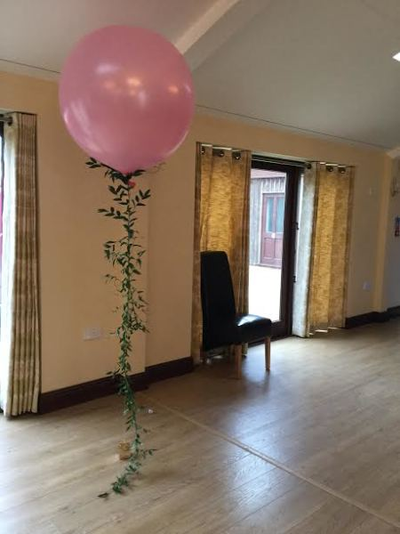 2ft balloon with live tail