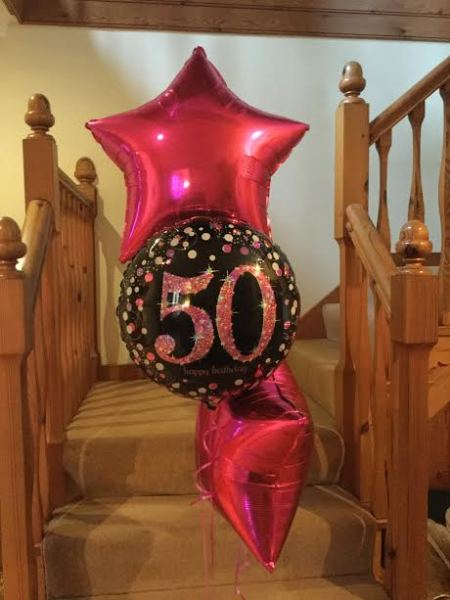 50th birthday bouquet